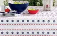Patriotic Stripe Tablecloth