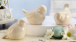 Ceramic White Bird