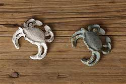 Cast Iron Crab Figurine
