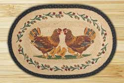 Country Chicks Jute Rug