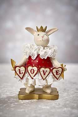 Arabella - Heather Myers Valentine Bunny