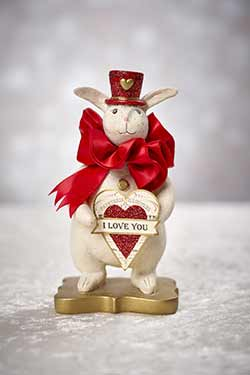 Amour - Heather Myers Valentine Bunny