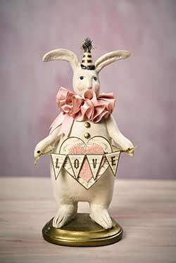 Andre - Heather Myers Valentine Bunny
