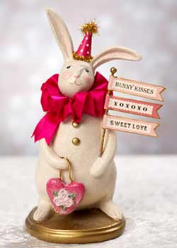 Bijou - Heather Myers Valentine Bunny