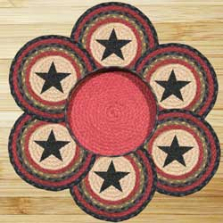Star Braided Jute Trivet Set