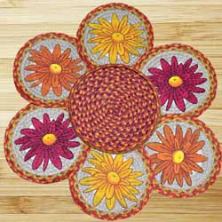 Mums Braided Jute Trivet Set