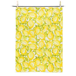 Allover Lemons Tea Towel