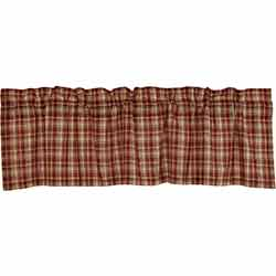 Beckham Plaid Valance