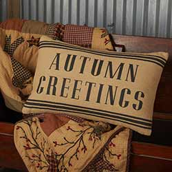 Heritage Farms Autumn Greetings Throw Pillow