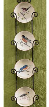 Backyard Birds Mini Plate