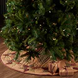 Tea Star Tree Skirt 48