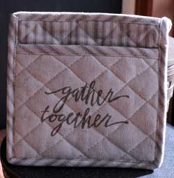 Gather Together Pot Holder