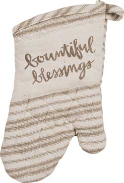 Primitives By Kathy Bountiful Oven Mitt