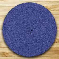 Fiesta Blue Braided Tablemat (10 inch)