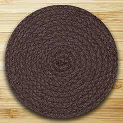 Fiesta Brown Braided Tablemat (10 inch)