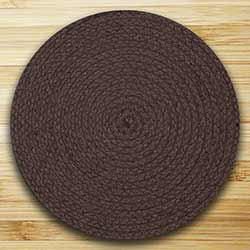 Fiesta Brown Braided Placemat