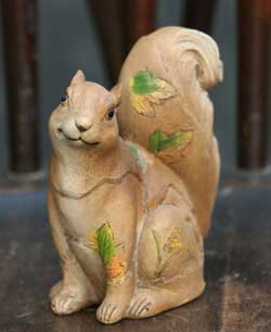 Giftcraft Squirrel Figurine