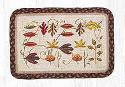 Autumn Leaf Oblong Printed Placemat
