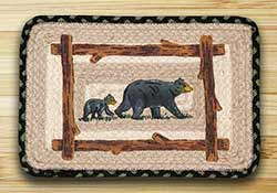 Mama and Baby Bear Tablemat (10 x 15 inch)