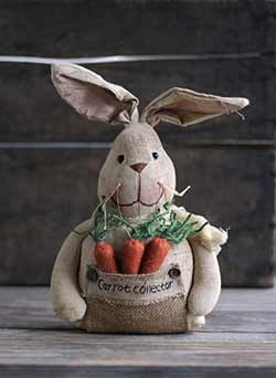 Carrot Collector Bunny Doll