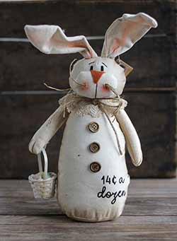 14 Cents a Dozen Bunny Doll
