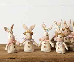 Spring Expressions Bunny Couple (Set of 2)
