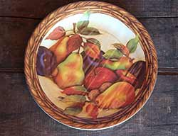 Harvest of Plenty Paper Dinner Plates