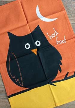 Night Owl Dishtowel