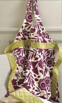 Fall Flora Apron or Oven Mitt