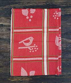 Songbird Jacquard Dishtowel