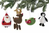 Penguin Woolen Ornament