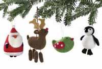 TAG Bird Woolen Ornament