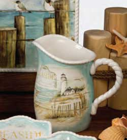 Beach Cottage Pitcher