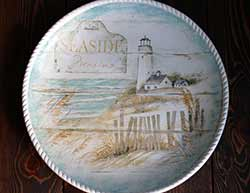 Beach Cottage Round Platter