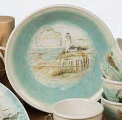 Beach Cottage Serving Bowl