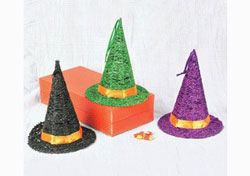 Hanna's Handiworks Glitter Witch Hat