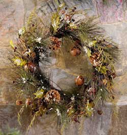 Pine Needle Christmas Wreath
