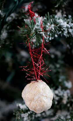 Snowball Ornament