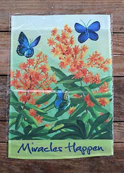Karner Blue Butterfly Garden Flag