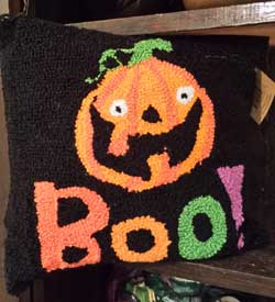 Boo Halloween Pillow - Jack