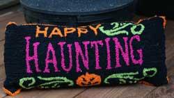Hanna's Handiworks Halloween Pillow - Happy Haunting