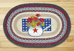 Summer Celebration Braided Jute Rug