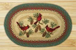 Cardinals Braided Jute Rug