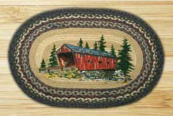 Covered Bridge Braided Rug