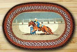Seconds to Finish Braided Rug