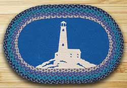 Lighthouse Braided Rug