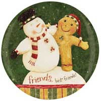 Snow Friends Mini Plate