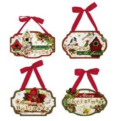 Celebrate the Season Wall Plaque