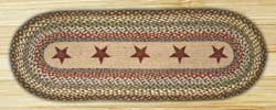 Gold Star Braided Table Runner - 48 inch