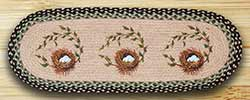Robins Nest Braided Table Runner